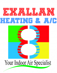 Exallan Heating and Air Conditioning Logo